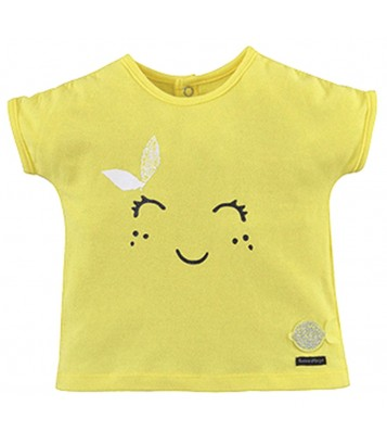 YELLOW BABY GIRL T-SHIRT Sucre Orge