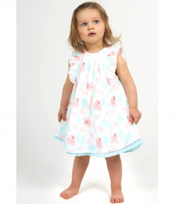 "BABY PRINTED DRESS ""HELLO SUMMER"" Sucre Orge"