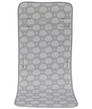 "GREY ""CLOUD"" STROLLER PAD Sucre Orge"
