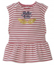 PINK STRIPED DRESS Sucre Orge
