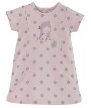 ROBE ROSE A POIS Sucre Orge