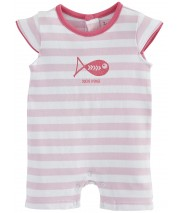 PINK STRIPED SHORT ALL-IN-ONE Sucre Orge