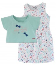 TURQUOISE DRESS SET 2/8 YEARS Sucre Orge
