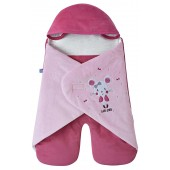 "PINK ""MOUSE"" TRAVEL BABY NEST"