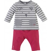 RED TROUSERS SET
