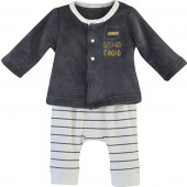 STRIPED BABY TROUSERS SET