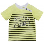 ANIS GREEN STRIPED T-SHIRT