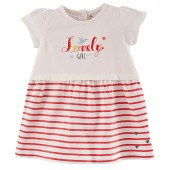 "BABY STRIPED DRESS ""LOVELY GIRL"""