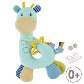 """GIRAFFE"" BLUE ACTIVITIES RATTLE"