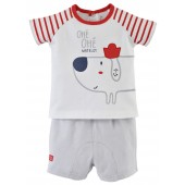 """DOG"" BABY BOY SHORTS + T-SHIRT"
