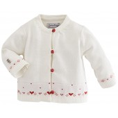 "BABY CARDIGAN ""LOVELY GIRL"""