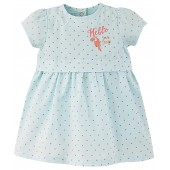 "BABY SHORT SLEEVES DRESS ""HELLO SUMMER"""