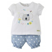 "BABY GIRL ""KOALA"" SHORTS + T-SHIRT"
