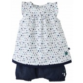 MENTHE A L'EAU DRESS AND BLOOMER