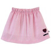 HIBISCUS STRIPED SKIRT
