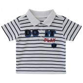 STRIPED POLO SHIRT AUDRAN