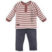 "BABY TROUSERS + T-SHIRT ""NEW ADVENTURE"""