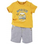 "BABY SHORTS + T-SHIRT ""MOTOR CLUB"""