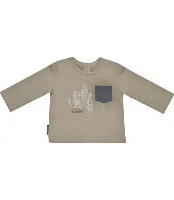 BEIGE BOY T-SHIRT 2/8 YEARS Sucre Orge