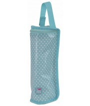 TURQUOISE BLUE BOTTLE COOL BAG