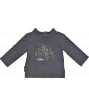 DARK GREY BOY THIN SWEATER 2/8 YEARS Sucre Orge