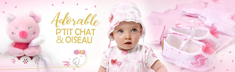 pink sucredorge, pink clothing, baby clothing