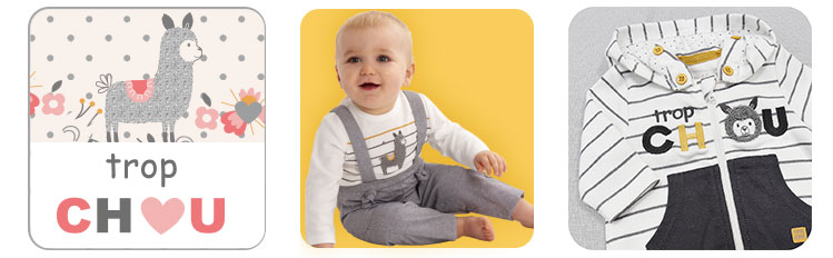 grey sucredorge, grey clothing, baby clothing