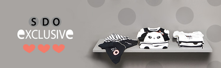 baby clothing white and black