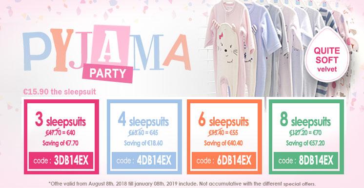 Pyjama party Sucre d'Orge!