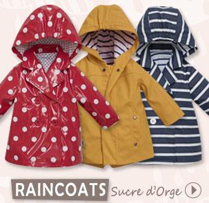 Collection raincaot Sucre d'Orge