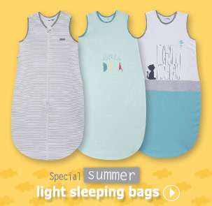 Special summer light sleeping bags Sucre d'Orge