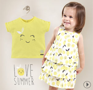 Yellow collection summer 2018 Sucre d'Orge