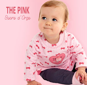 The collection the pink Sucre d'Orge