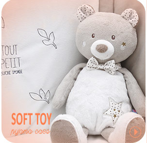 Soft toys pyjama Sucre d'Orge