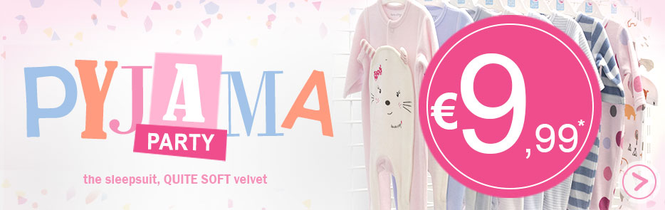 Shop pyjama party Sucre d'Orge