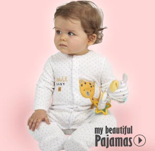 Baby pyjama Sucre d'Orge