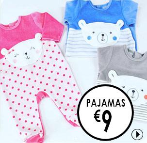 Pyjamas baby, Sleepsuits Suce d'Orge