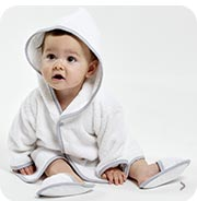 Baby bath robes, Child bath robes Sucre d'Orge